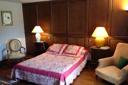 Chambres d'hôtes-B and B- de la Touche - Anjou - Montfaucon-Montigné - Gästehaus