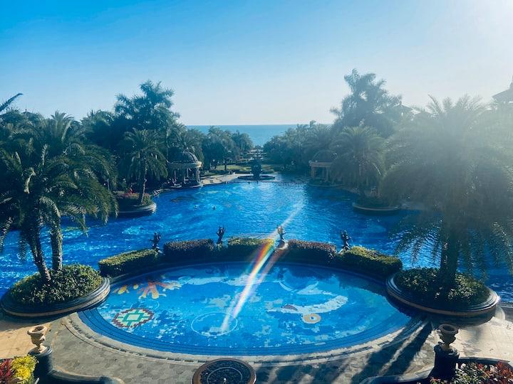 清水湾温德姆酒店旁碧桂园珊瑚宫殿酒店式网红海景公寓