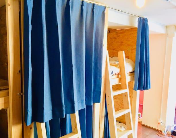 18)Hakata10min☆Canal3min☆GuestHouse Dormitry Bar