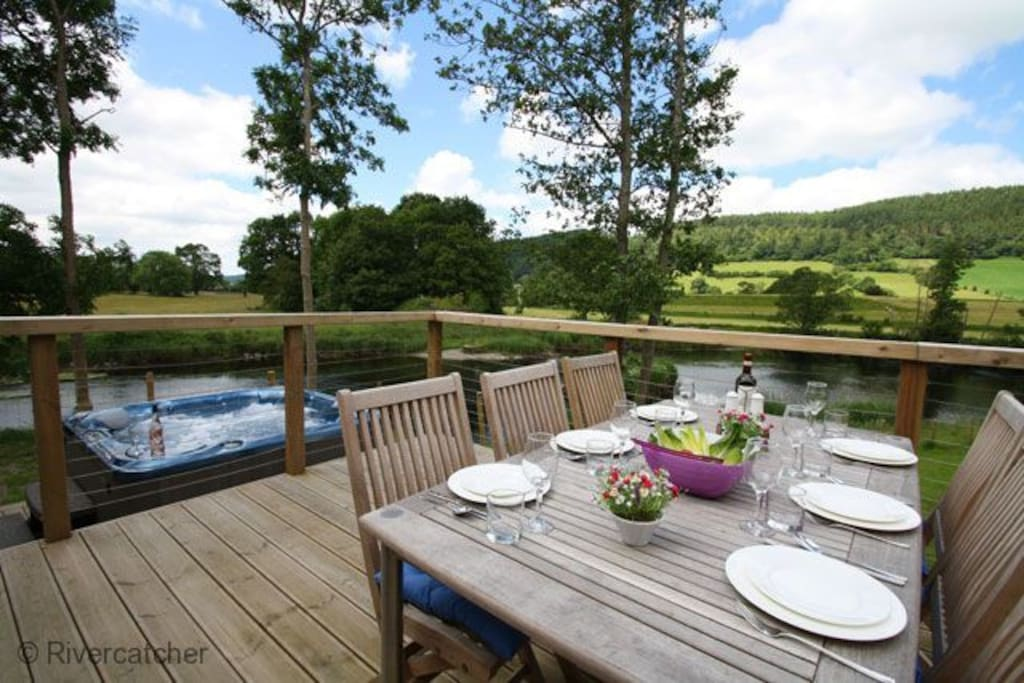 Private Decking and Garden