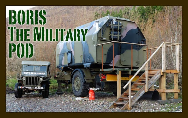 'Boris', the Military Pod!