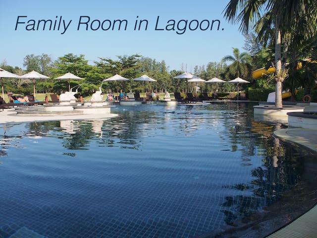 Family Room in Lagoon.