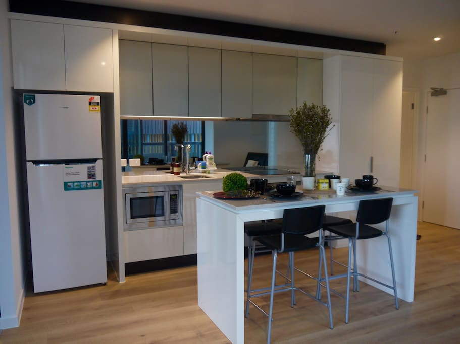Brand new lux kitchen area at your service.