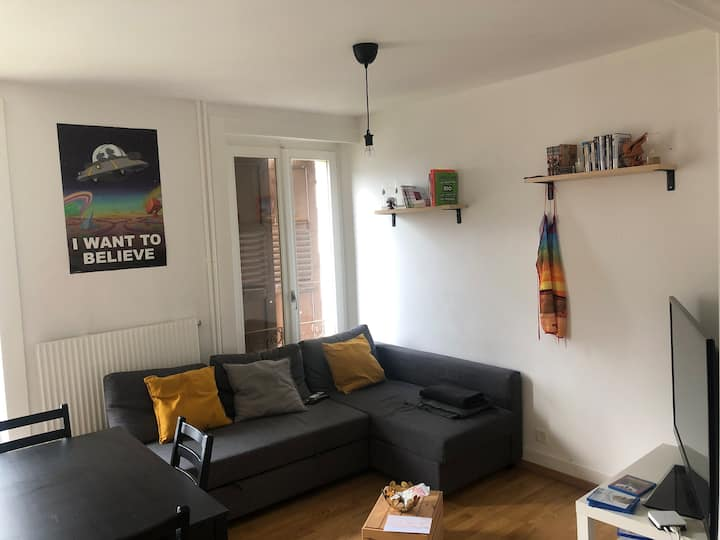 App /3 Bedrooms at 7 min of Lausanne train station