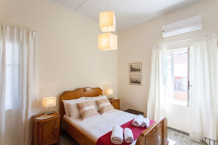 Sunlight and air characterizes mother's Calliope renovated bedroom!