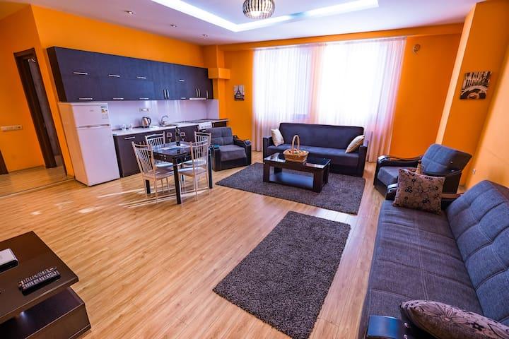 Modern flat N1 (metro 1 min)