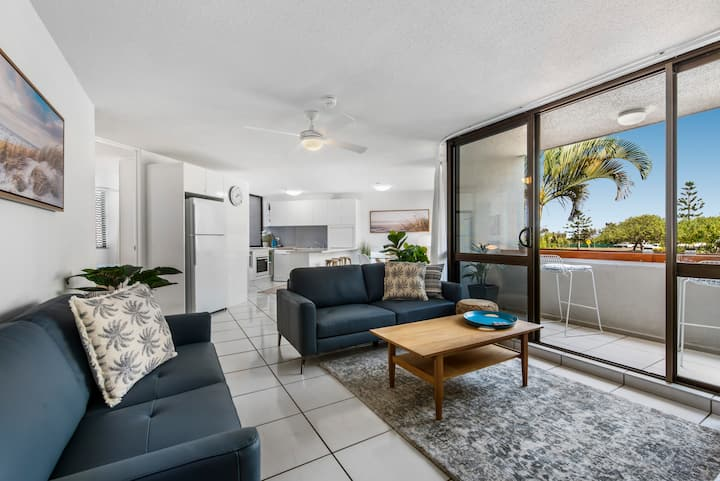Beautiful beachside apartment