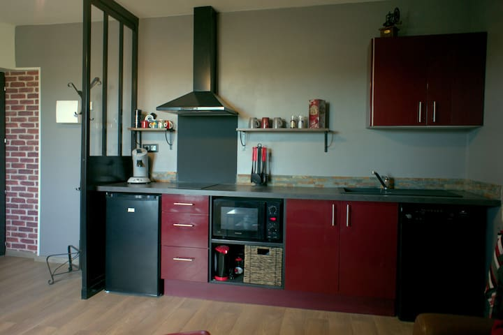 T2 tout confort calme WIFI Blagnac/Beauzelle - Beauzelle - Apartmen