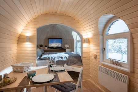 Mobile home, bath, toilet, terrace, Sabindls Kaiser Lodge