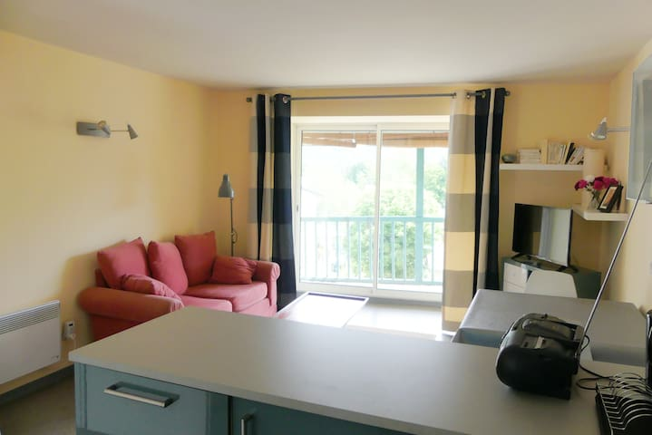 Appartement cosy avec belle vue