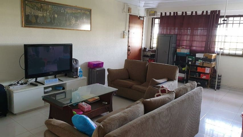 Room for rent ($15/pax per night)