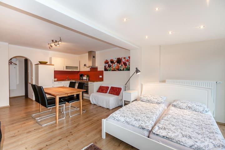 Pension und Ferienwohnung Meixner (Riedenburg), Appartement mit Balkon