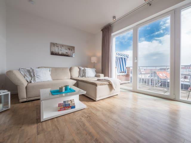 Norderney Living -NETFLIX-City-Penthouse-4 Pers.