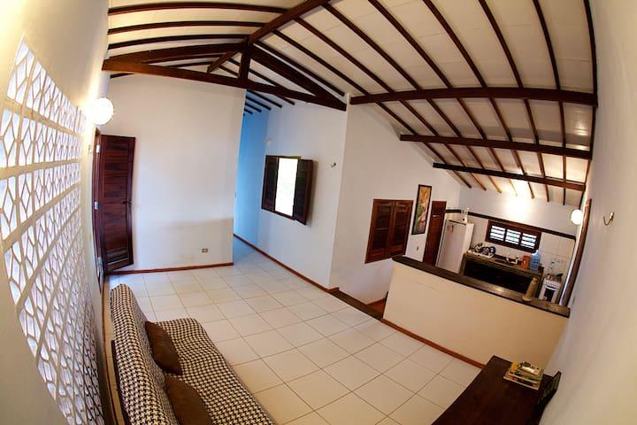 Espaço Caju - Casa completa com dois quartos. - Aracati - House