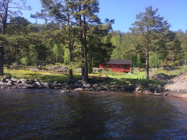 Rennsunda - Sunny, wonderful view in Vegårshei - Vegarshei - Cabin
