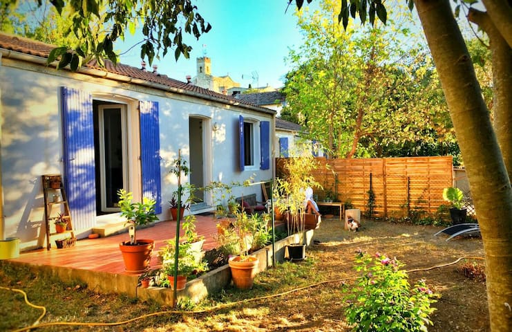 Maison, 2 chambres avec jardin arboré au calme - Montferrier-sur-Lez - Casa
