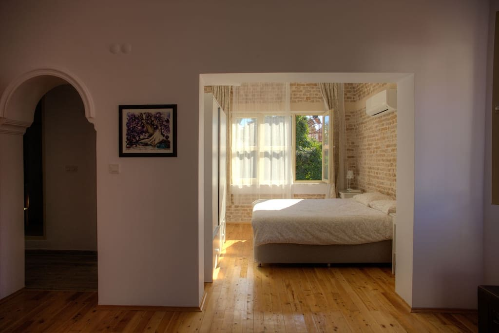 Bedroom and hall