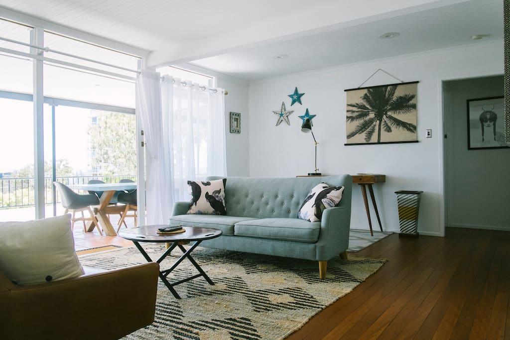 Interior design of living space