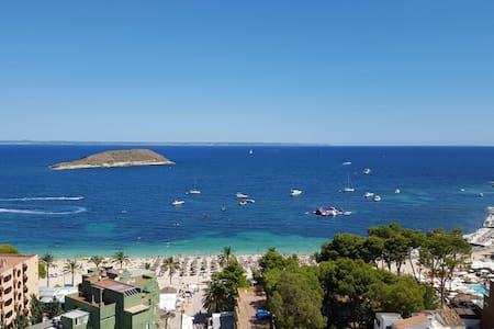 Two room apartment with see few. - Magaluf - Apartamento