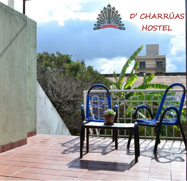D'Charruas Hostel Suite privada
