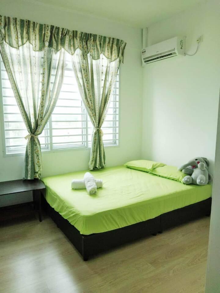 JB Room stay 2 pax near interchg ksl ciq cs kpj#R2