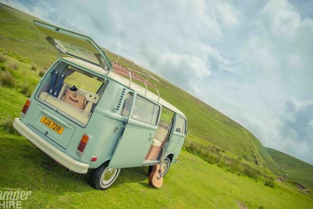 'Eddie' 1976 Camper Van in Devon - South Molton