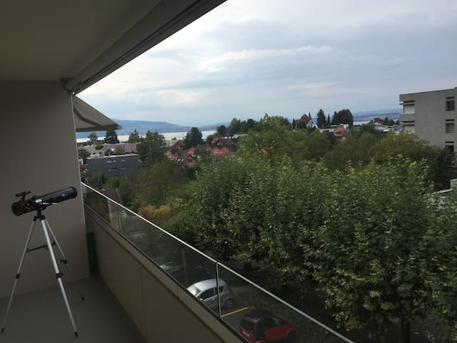 Appartment in city Zug(incl.WiFi, TV,parking) - Zug - Apartemen
