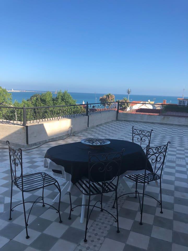 Villa rooftop - plages à 300m