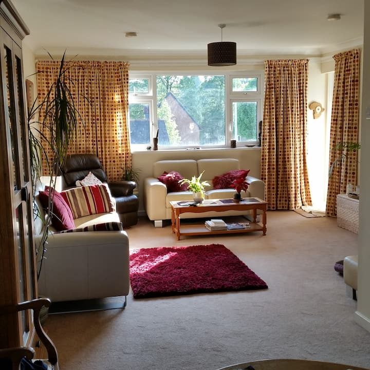 2 Double Room Apartment in Leafy Cardiff Suburb