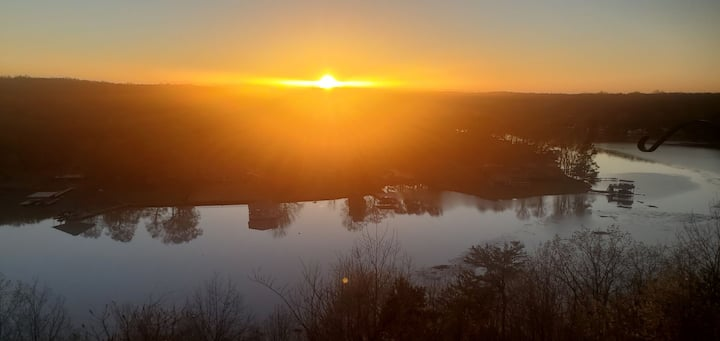 Condo with a View of Shoals Creek, 2 bed, 1.5 bath