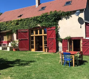 Comfortabel vriendenhuis met rust en ruimte:Nades - Nades - Cottage