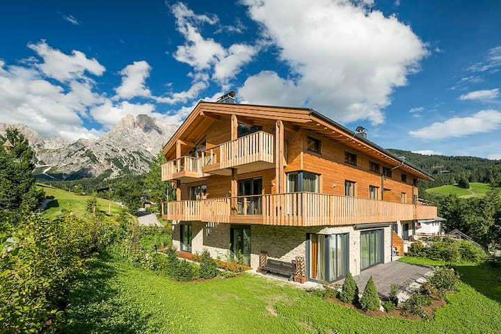 Alpen-Apartment mit privater Sauna - Hinterthal - Lejlighed