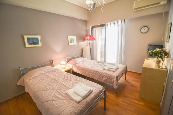 Cosy one-bedroom apartment in the heart of Athens