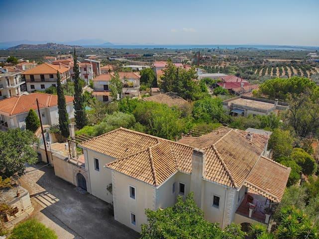 Traditional Villa with seaview in Astros - Nafplio