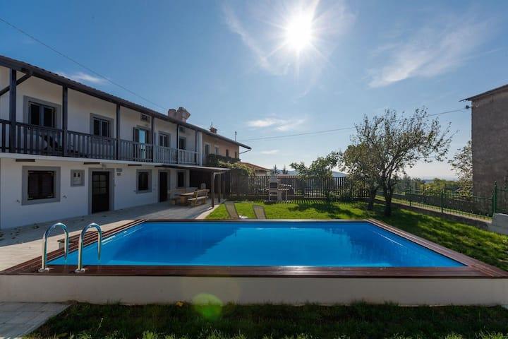 """Vila Sistiana - Vacation homes for Rent in Sela na Krasu, Nova Gorica, Slovenia"""