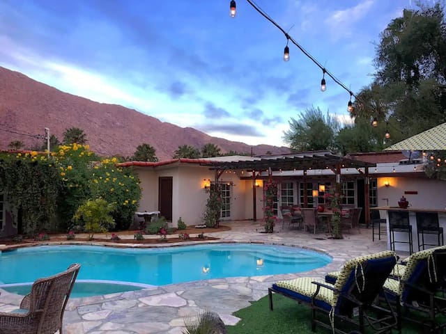 Views from Palo Verde, a Classic PS Hacienda Home