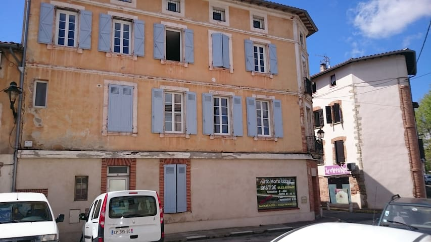 Appart 65m2 CV de LAVAUR +PETIT DEJ - Lavaur - Appartement