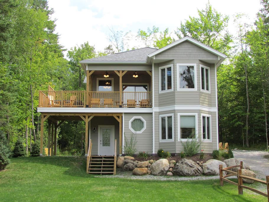 White spruce cottage wilmington whiteface mtn ny for Wilmington ny cabin rentals