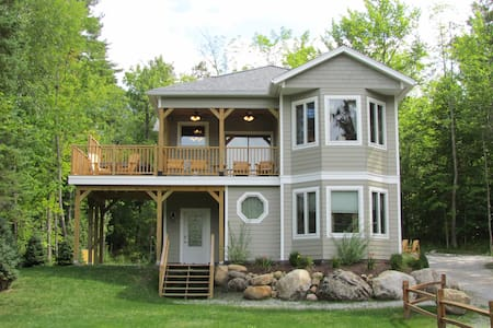 White Spruce Cottage ~ Wilmington/Whiteface Mtn NY - Вильмингтон - Дом