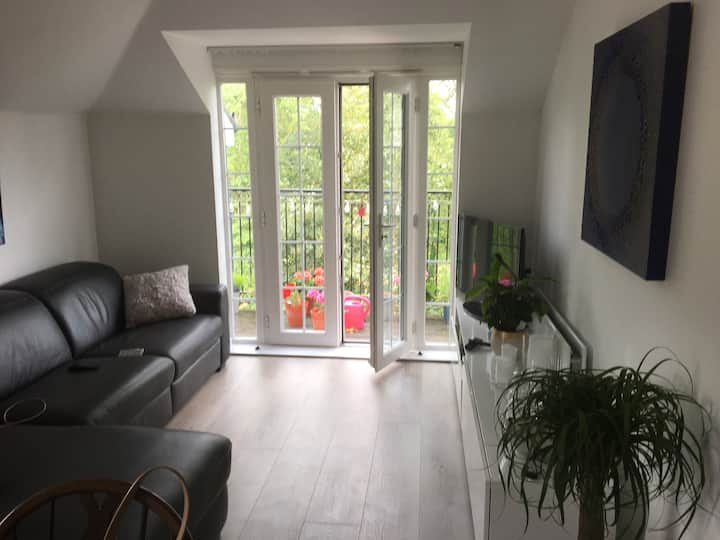Bright stylish double room in flat close 2 Station