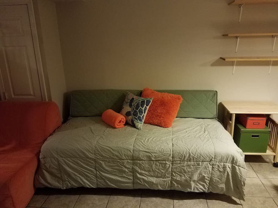 Twin bed # one