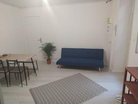 Guéret, Centre Ville, appartement cosy RDC