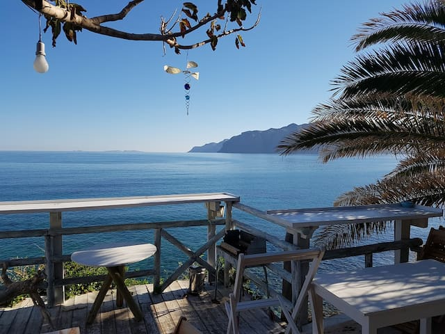 Mochlos Seafront house Unique romantic 3 bedrooms - Mochlos
