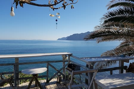 Mochlos Seafront house Unique romantic 3 bedrooms - Mochlos - 獨棟