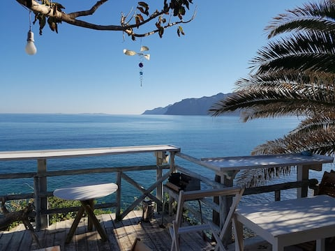 Crete Villa By The Sea Mochlos Seafront house