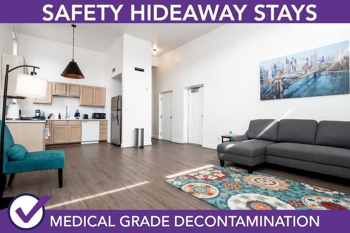 Safety Hideaway - Medical Grade Clean Home 113