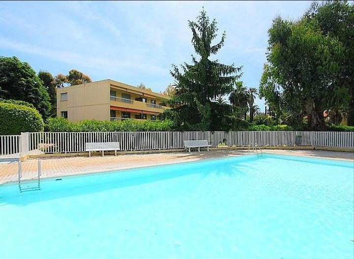 Appartement T3 de 63 m² proche plage avec piscine