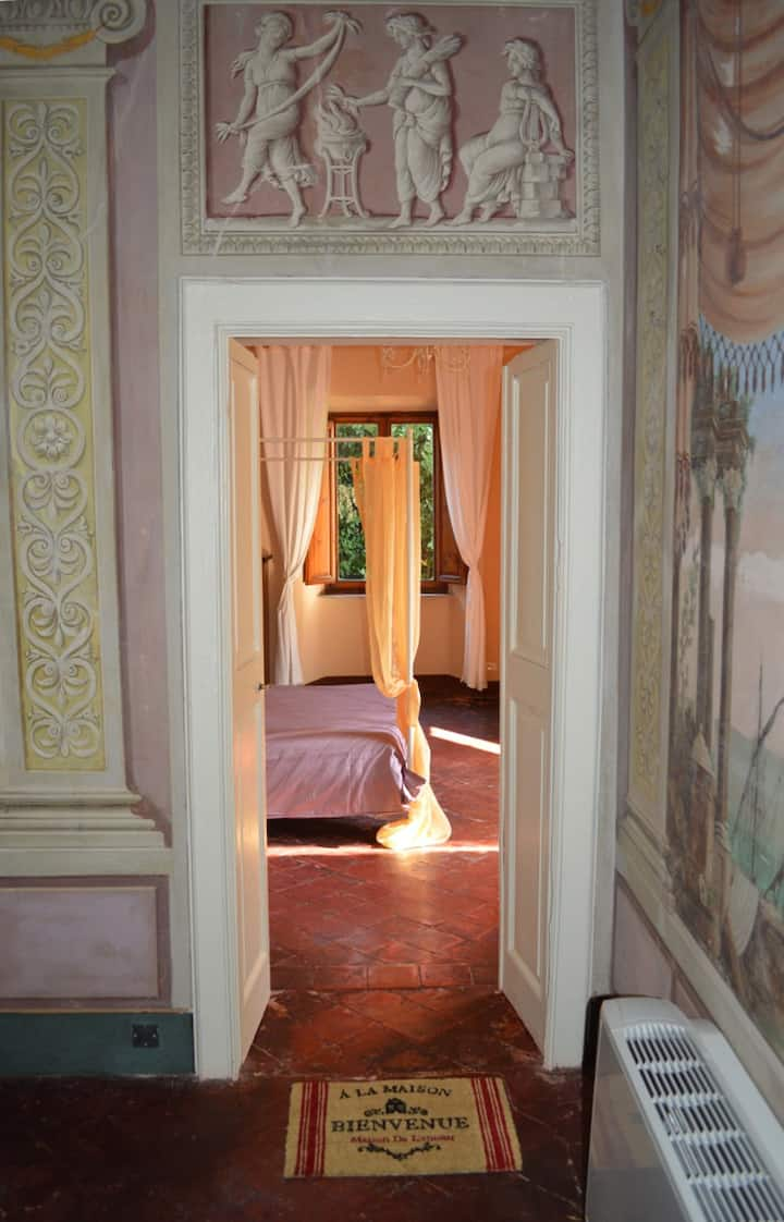 The Poets Suite at Casa Tolomei,  Bagni di Lucca