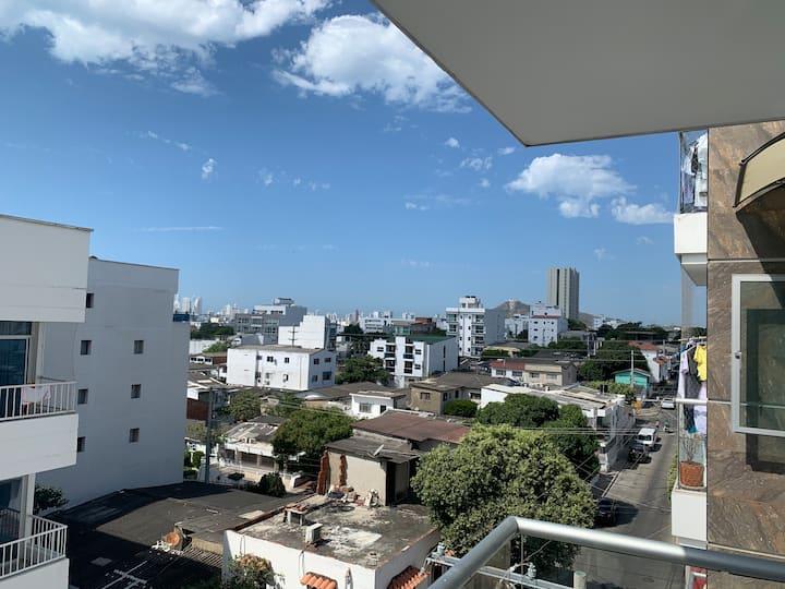 Habitación acomodación doble Cartagena alto bosque