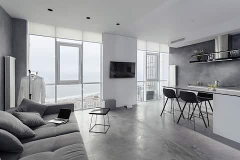 Sea&Sky Grey Apartment